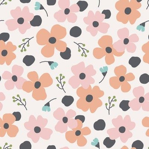 dotted floral