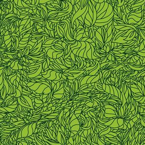 Leaf Grn bright drk grn lg