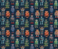 Vintage Kitsch Robots