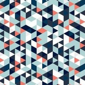 Blue Teal Prism