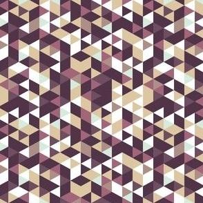 Purple Beige Prism