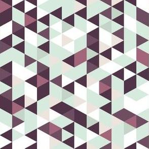 Purple Teal Prism