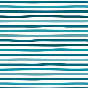 Little summer blue stripes basic minimal strokes spring summer navy aqua and white
