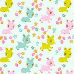 Vintage Kitsch Baby Deer (K)