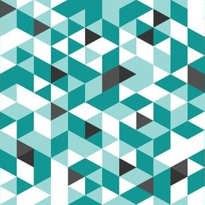 Shade of Turquoise Prism