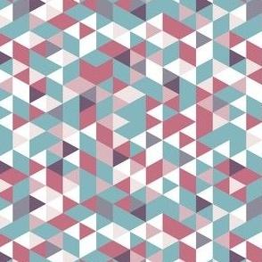 Teal Pink Prism