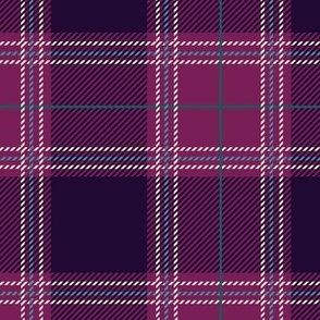 Shade of Purple Plaid V04