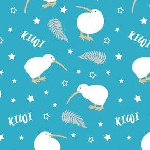 Kiwi Bird Blue