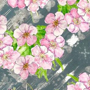 Pretty pastel floral - en pointe
