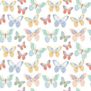 Rainbow--Butterflies 4x4