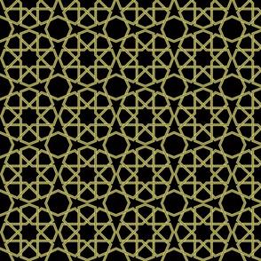 Geometric Black and Green