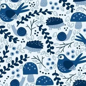 Classic Blue Critters