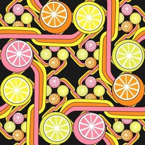 Citrus squared - black