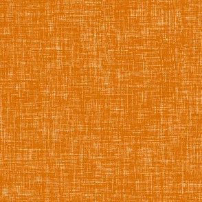 Orange Linen Texture Solid