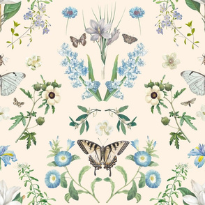 Vintage_botanical_garden_damask_in_cream