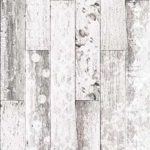 Vintage Wood Chevron Tiles White Beige Brown Random
