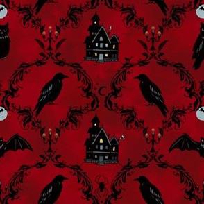 Ravenswood Damask (red)