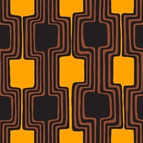 line shapes (orange & brown)