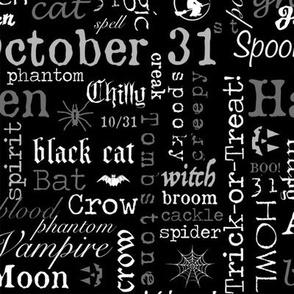 Halloween Text Larger