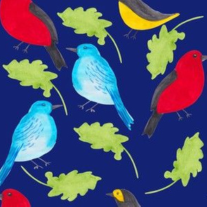 Birds & Leaves