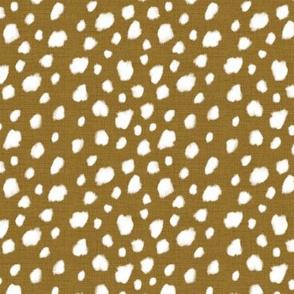 Deer Spot Linen Antique Gold