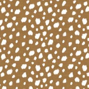 Deer Spot Linen Faded Gold