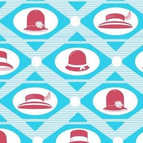 art deco hats