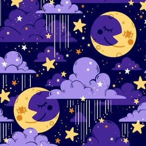 Rainy Night Sky
