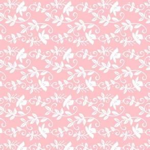 Sweet flower trails pink