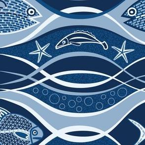 Ocean Life (Classic Blue)