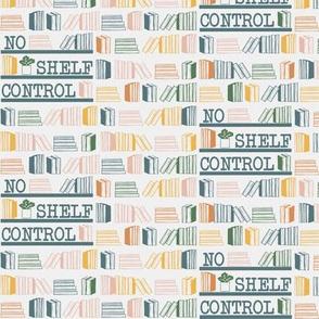 No Shelf Control Blues and Yellows