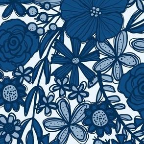 Classic Blue Bloom (Light)