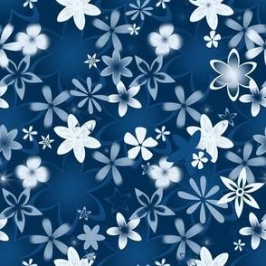 classic blue - Flowers