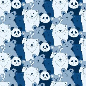 Bears in Blue