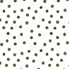 Medium olive green dot