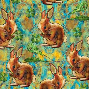 Hungry bunny cyane yellow