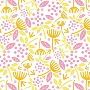 Dandelion Florals Fruity Colors