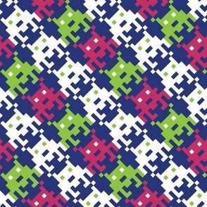 Space Invader Houndstooth!