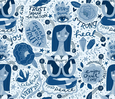 My Blue Mantras