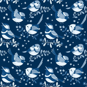 classic blue birdy