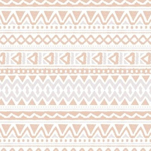Ethnic colorful aztec design summer geometric triangles mayan mudcloth print