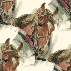 The Equestrian ~ The Horse ~ Cosmic Latte