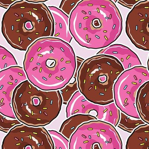 Just Donuts - Pinky Background