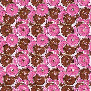 just donuts - pinky SMALL