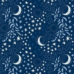 Moon Among the Stars - Blues
