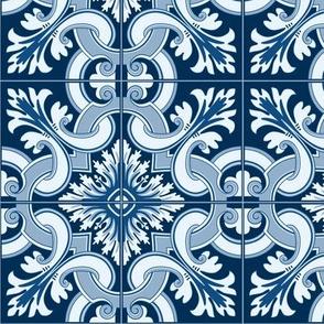 Portuguese Tiles_Classic Blue