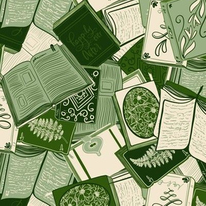 Book lovers - green