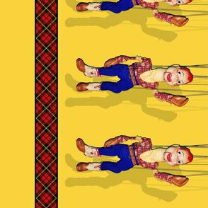 Marionette Border Print
