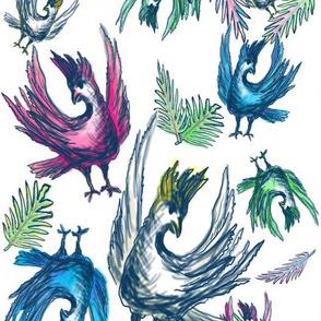 Cynthia's Dancing Birds