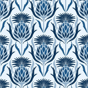 Thistle, Classic Blue